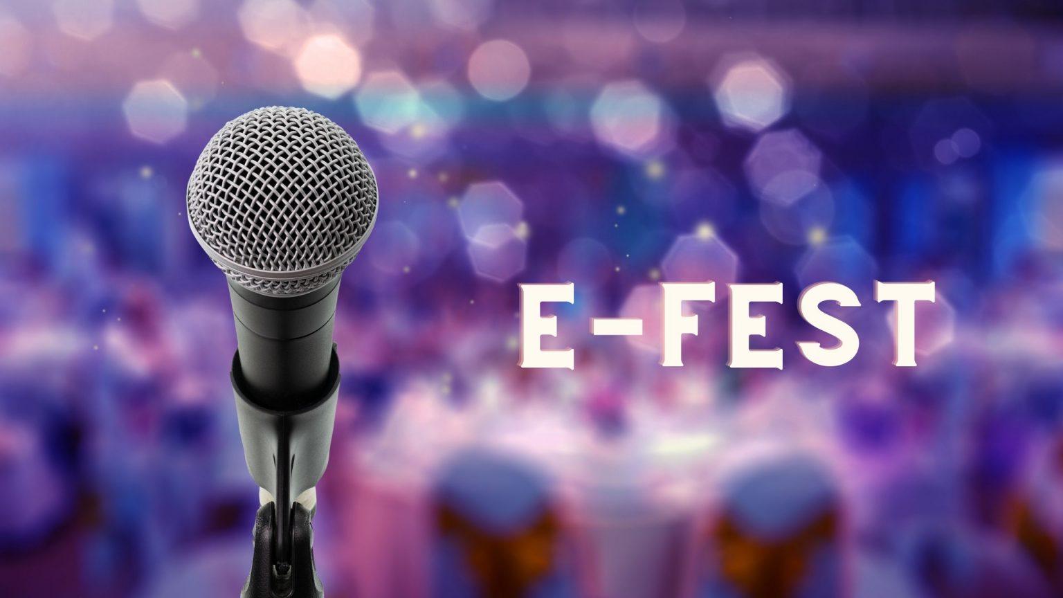 Онлайн фестивал E-FESTтърси най-добрите певци и танцьори